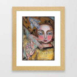 A way to go  Framed Art Print