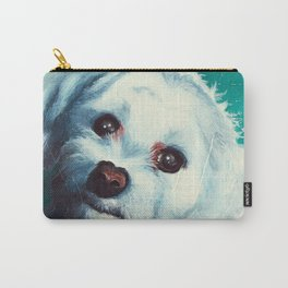 Maltese dog - Pelusa - by LiliFlore Carry-All Pouch