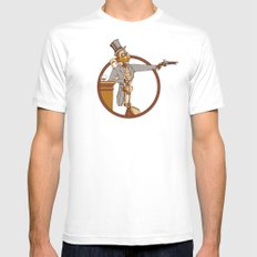 The Windup Duelist Mens Fitted Tee White MEDIUM