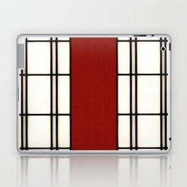 Shoji - red Laptop & iPad Skin