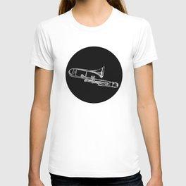 Piston Valve Trombone T-shirt