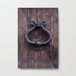Doorknocker Metal Print