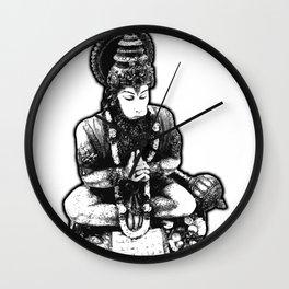 Hanuman Yoga Wall Clock