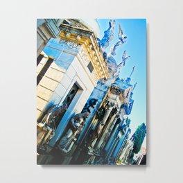 "Cemetery ""La Recoleta"". Metal Print"