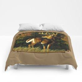 Whitetail Deer Trophy Buck Comforters