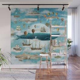 Ocean Meets Sky - option Wall Mural