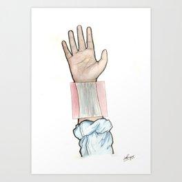 sensitive, it's true Art Print