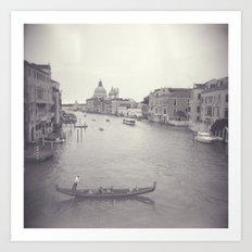 Love in Venezia Art Print