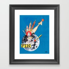 Promises of the Jet Age: 'The Cutting Edge' Framed Art Print