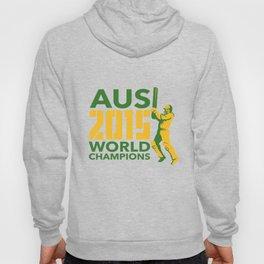Australia AUS Cricket 2015 World Champions  Hoody