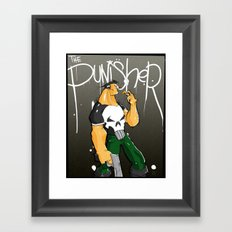 The Punisher Framed Art Print