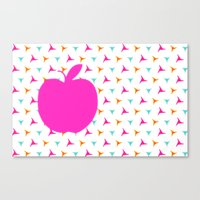 apple Canvas Prints featuring *Apple* by Mr and Mrs Quirynen