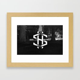 South Hill Framed Art Print