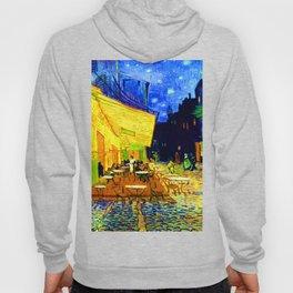 Van Gogh Cafe Terrace at Night Hoody
