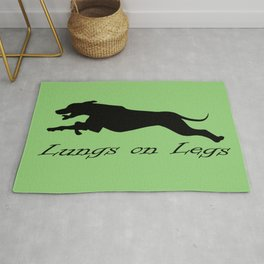 Lungs on Legs Rug