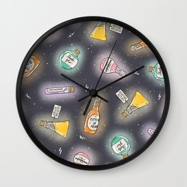 Potions Class Wall Clock