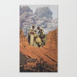 Dirty Sheep Canvas Print