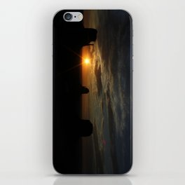 Sunrise over Monument Valley East & West Mitten Buttes iPhone Skin