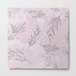 Pale flowes Metal Print