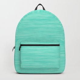 Turquoise Green Heather - AetherierPrint Backpack