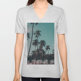 Palm trees Unisex V-Neck