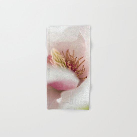 Macro Of A Tulip Tree Blossom Hand & Bath Towel