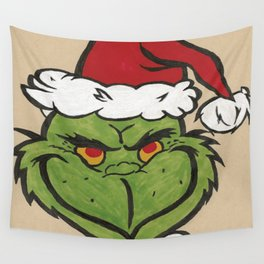 Grinch Wall Tapestry