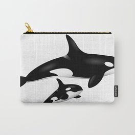 orca whales Carry-All Pouch