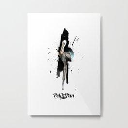 Pelinkan Metal Print