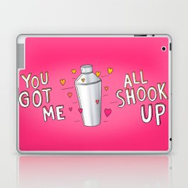 You Got Me All Shook Up Laptop & iPad Skin