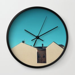 Blind House Wall Clock