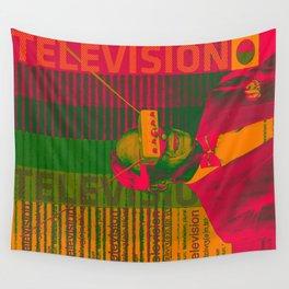 TELEVISION VISION Wall Tapestry