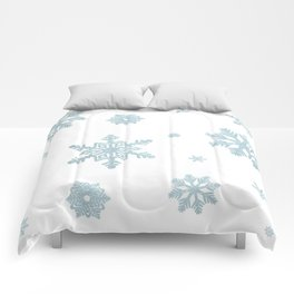 Glitter Snowflakes Comforters
