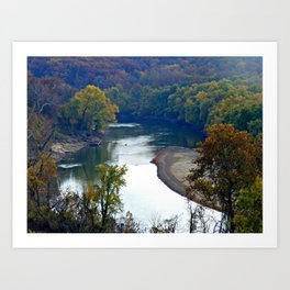 Tranquil View Art Print