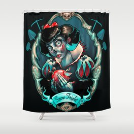 Snow Fright Shower Curtain