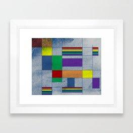 Mid-Century Modern Art - Rainbow Pride 1.0 Framed Art Print