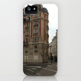 Au coin (Paris) iPhone Case