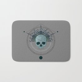 Holy Skull Bath Mat