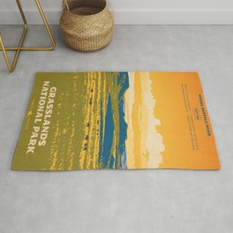 Grasslands National Park Poster Rug