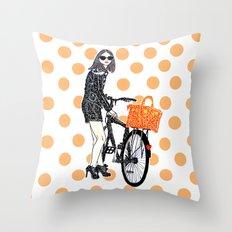 Olivia Palermo Throw Pillow