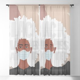 Protest No. 1 Sheer Curtain