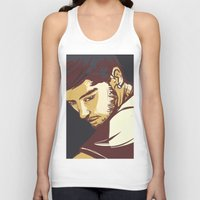 zayn malik Tank Tops featuring Malik by Rosketch