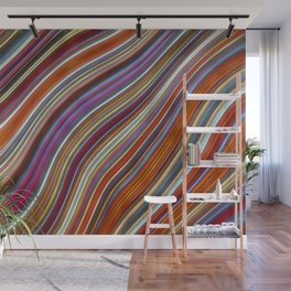 Wild Wavy Lines 43 Wall Mural