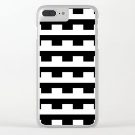 BW Tessellation 5 2 Clear iPhone Case