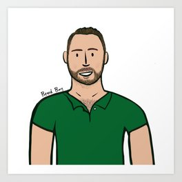 Beard Boy: Damien Art Print