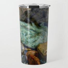Glacier N.P. Rocks Travel Mug