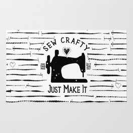 Sew Crafty - Just Make It - Do It Yourself - Rug