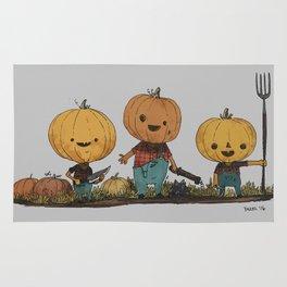 Pumpkin Pals Rug