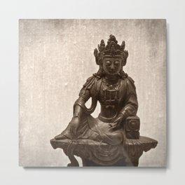 The Zen Metal Print