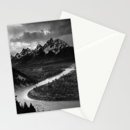 The Tetons and the Snake River | Wyoming | Ansel Adams Stationery Cards